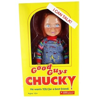 "Child's Play Good Guys 15"" Chucky Talking Doll - multi"