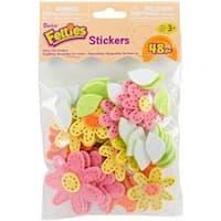 Daisies - Felties Stickers 48/Pkg