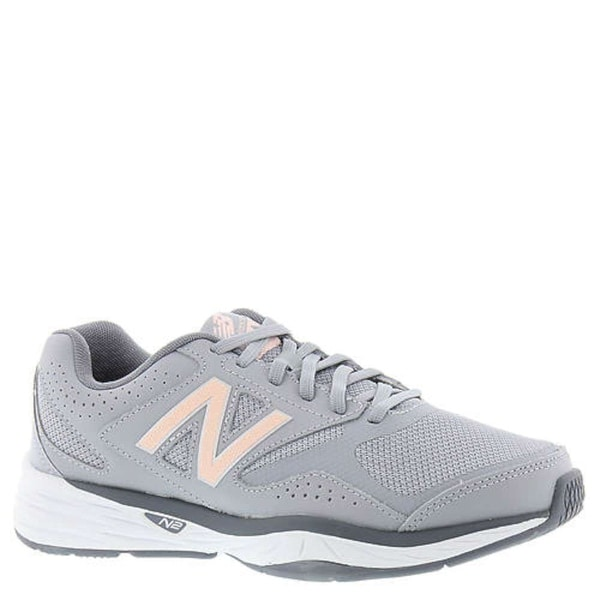 New Balance Womens wx824gp1 Low Top Lace Up Running Sneaker, Grey, Size 5.0 - 5