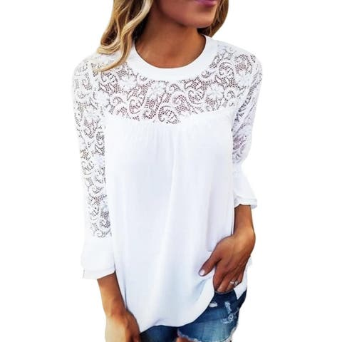 50ba5d990f4d1e Polyester Tops | Find Great Women's Clothing Deals Shopping at Overstock