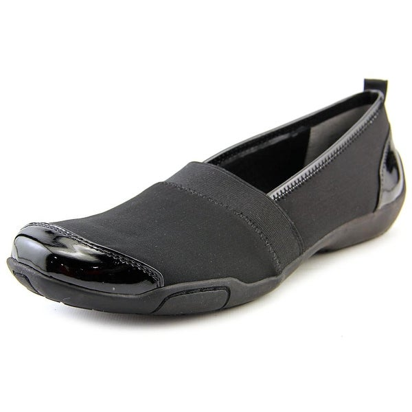 Ros Hommerson Carol Women SS Round Toe Synthetic Black Loafer