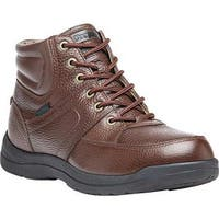 Propet Men's Four Points Mid II Boot Brown Full Grain Leather