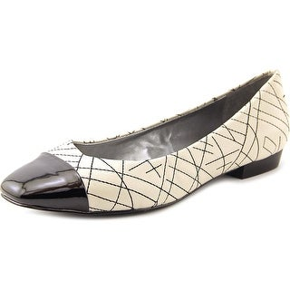 Tahari Imani Women Square Toe Synthetic Flats