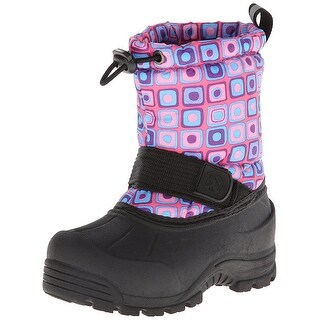 Northside Girls 911312G696 Mid-Calf Pull On Snow Boots