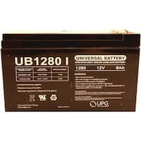 Upg 85989/D5779 Sealed Lead Acid Batteries (12V; 8Ah; .250 Tab Terminals; Ub1280F2)