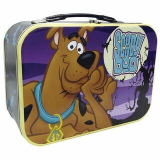 Scooby-Doo Spooky Forest Tin Tote Metal Lunch Box - From Westland Giftware