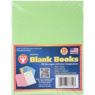 Bright Books, 10/Pkg, 24Pp-Assorted Colors