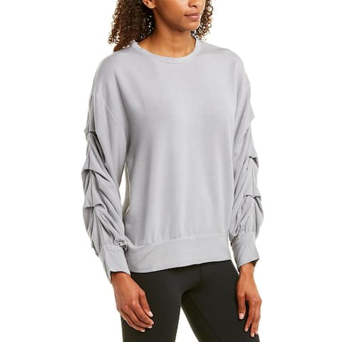 Threads 4 Thought Jem Ruched Pullover - Cement