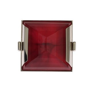 Dolce & Gabbana Red Stone Crystal Statement Ring - One size