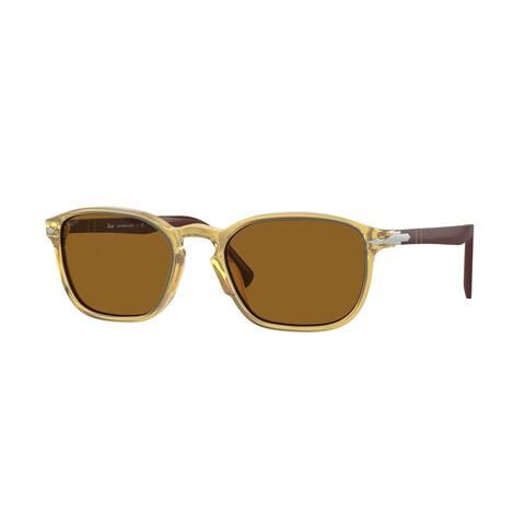 Persol PO3234S 113233 54 Yellow Man Pillow Sunglasses