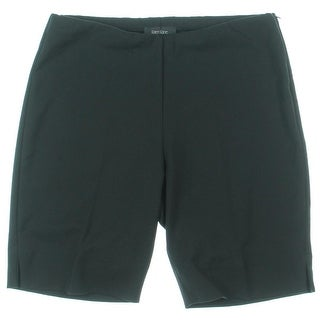 Karen Kane Womens Walking Shorts Side Slits Hidden Side Zip