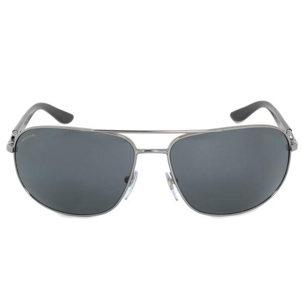 3f9332dede Shop Bvlgari Aviator Sunglasses BV5028 103 81 64 - Free Shipping ...