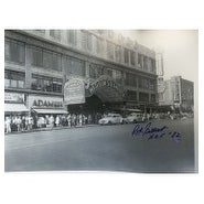 Signed Gilbert Rod BW 16x20 Photo autographed
