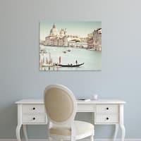 Easy Art Prints Keri Bevan's 'Grand canal' Premium Canvas Art