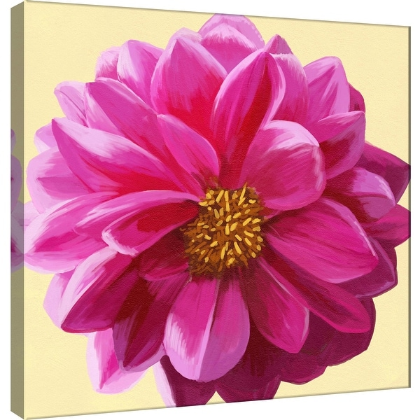 "PTM Images 9-100065 PTM Canvas Collection 12"" x 12"" - ""Flower Art 4"" Giclee Flowers Art Print on Canvas"