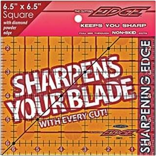"6-1/2""X6-1/2"" - The Cutting Edge Clear Ruler"