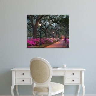 Easy Art Prints Winthrope Hiers's 'Forsythe Park' Premium Canvas Art