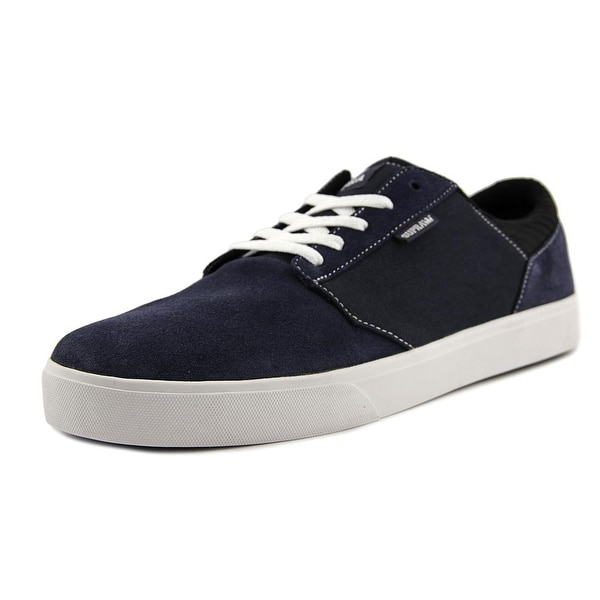 Supra Yorek Low Round Toe Suede Sneakers