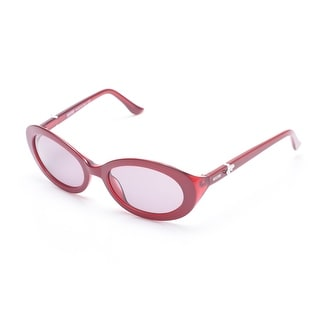 Moschino Women's Bow Detailed Cat Eye Sunglasses Red - Small