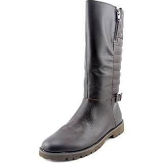 Easy Spirit Briano Women  Round Toe Leather Brown Mid Calf Boot