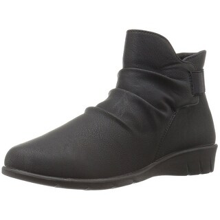 Easy Street Womens Bounty Closed Toe Ankle Cold Weather Boots