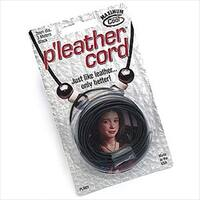 Black Pleather Cord 1mm (Faux Leather) 3 Meters
