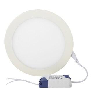 AC 85-265V 15W Energy Saving Round White LED Panel Down Light Lamp w Drive