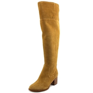 Marc Fisher Escape Round Toe Suede Over the Knee Boot