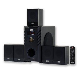 Acoustic Audio AA5104 Home Theater 5.1 Speaker System Surround Sound for Multimedia or Computer