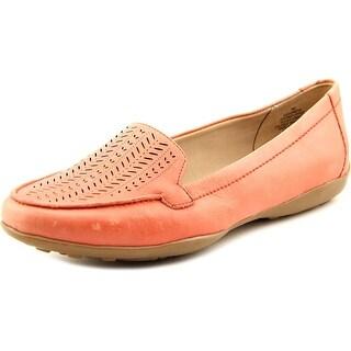 Easy Spirit e360 Jasmera Round Toe Leather Loafer