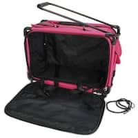 """TUTTO Machine On Wheels Case-23""""X15""""X12"""" Pink"""