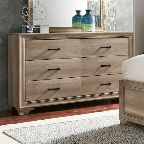 Sun Valley Sandstone 6-Drawer Dresser