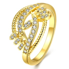 Natural Tree Branch Designer Gold Ring