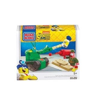 Mega Bloks SpongeBob Pickle Tank Attack Set
