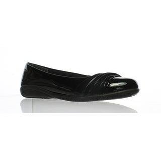 Walking Cradles Womens W-18202 Blpa-019 Black Ballet Flats Size 6.5 (AA,N)