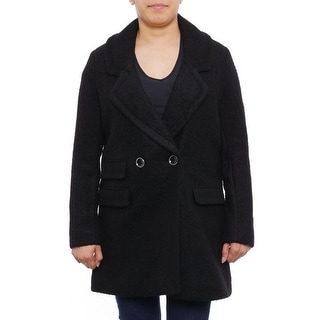 Kenneth Cole NY  Double-Breasted Button Up Peacoat Peacoat