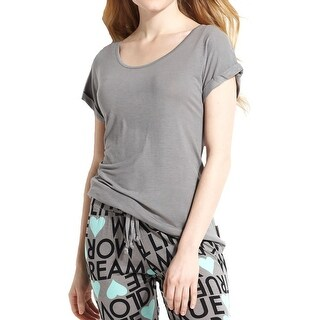 BCBGeneration Womens Sleep Tee Stretch Solid