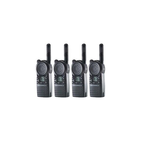 Motorola CLS1410 (4 Pack) 2-Way Radio / 5 Mile Range