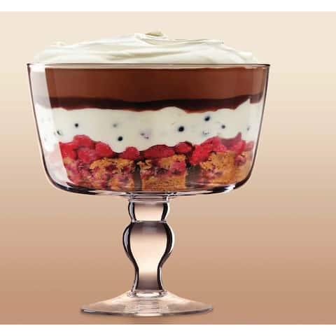 "Red Vanilla Posh Trifle Bowl 9"""