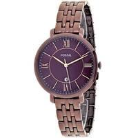 Fossil Women's Jacqueline Purple Dial Watch