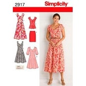 10 12 14 16 18 - Simplicity Misses'/Women's Dress In Two