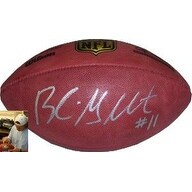 Blaine Gabbert signed Official NFL New Duke Football #11 (silver signature- Arizona Cardinals )