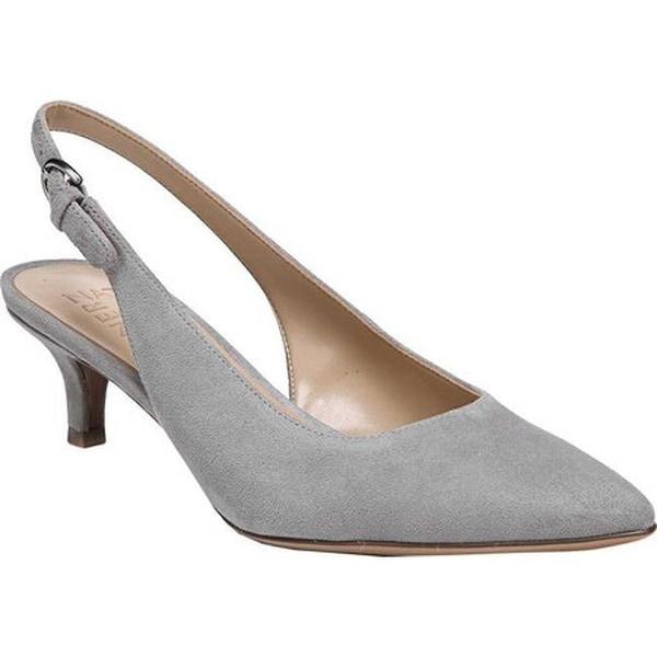 0d408b2098d Shop Naturalizer Women s Peyton Slingback Grey Leather - On Sale ...
