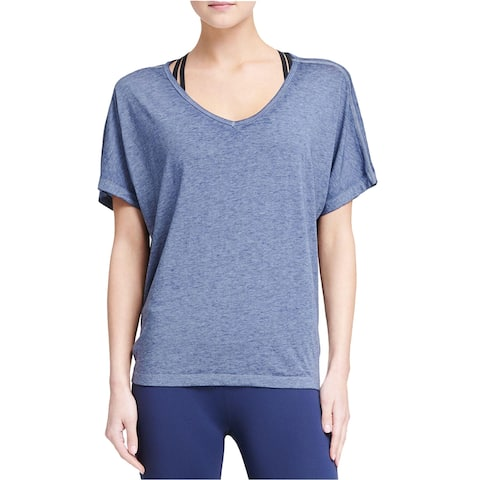 DKNY Women's Sport Icy Wash Tie-Back T-Shirt (S)