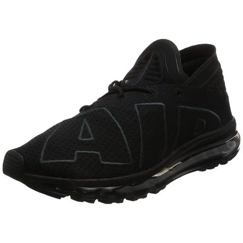 promo code bffad 23a86 Nike Air Sockracer Flyknit Black White-Yellow Strike 896447-003 Women s.  Details · 2. Nike Mens Air Max Flair Low Top Lace Up Running Sneaker
