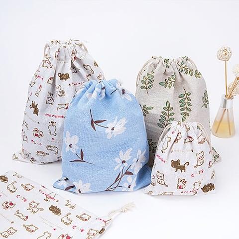 Drawstring Bag Cat Storage Bag Travel Accessories