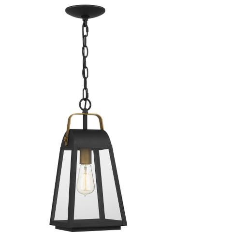 O'Leary Outdoor Hanging Lantern - Earth Black