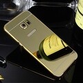 Premium Aluminum Metal Mirror Case With Bumper Snap-On Cover For Samsung Galaxy S7 - Thumbnail 24