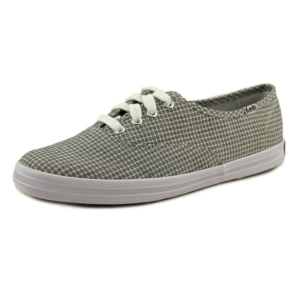 a380d9d5bff6 Shop Keds Champion Seersucker Women Round Toe Canvas Sneakers - Free ...