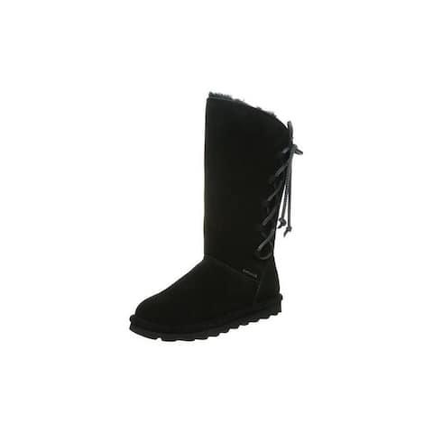 "Bearpaw Casual Boots Womens Rita 11"" Cow Suede Upper NeverWet"